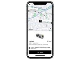 Uber Transit en Santiago de Chile