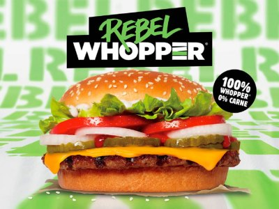 Hamburguesa Rebel Whopper en Chile