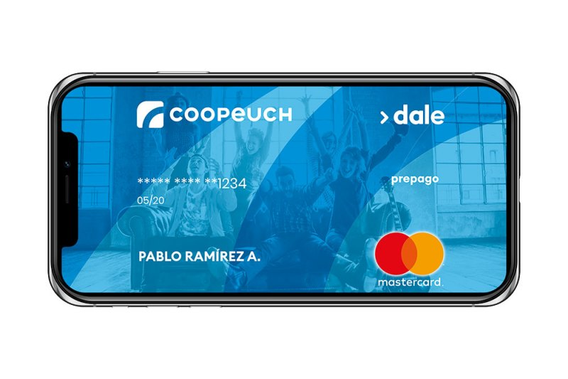 Tarjeta de prepago Dale Coopeuch gratis