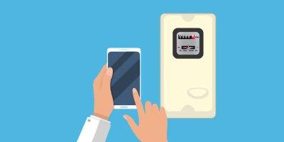 Cada cliente puede ingresar la lectura del medidor de energía eléctrica