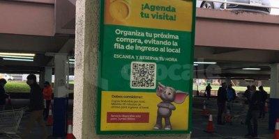 Agendar hora en el supermercado Jumbo Bilbao