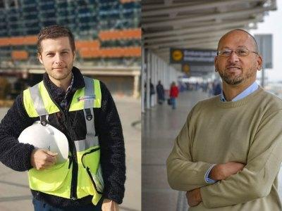 Branko Karlezi y Ricardo Delpiano