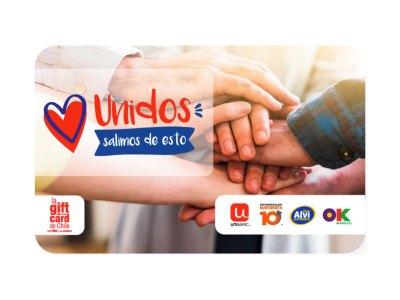 La gift card de la campaña unidos de SMU - Unimarc