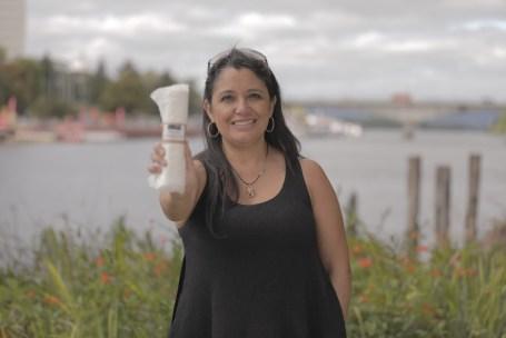 María Loreto Mendoza, ganadora del Concurso Nacional Desafío Emprendedor 2019