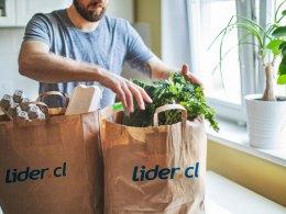 La nueva aplicación Lider App para compras de supermercado