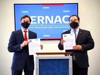 """""""No hagas click"""" se llama la campaña que presentó el SERNAC y la Subsecretaría del Interior"""