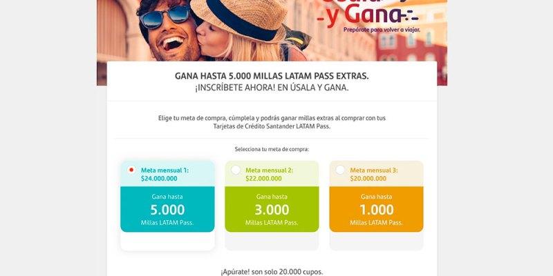Úsala y gana diciembre 2020 de Banco Santander