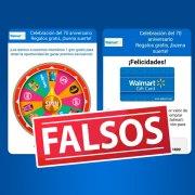 Concursos y promociones falsos de Lider