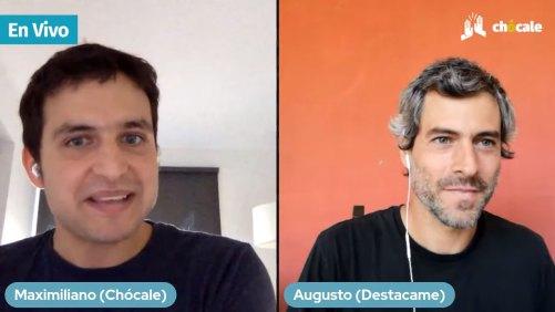 Augusto Ruiz-Tagle, cofundador de Destacame.cl, fue entrevistado por Max Valdés, editor de Chócale