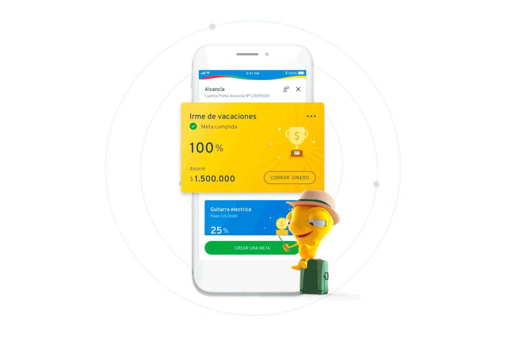 Mi Alcancia es una de las nuevas funcionalidades de la app de Banco Bci