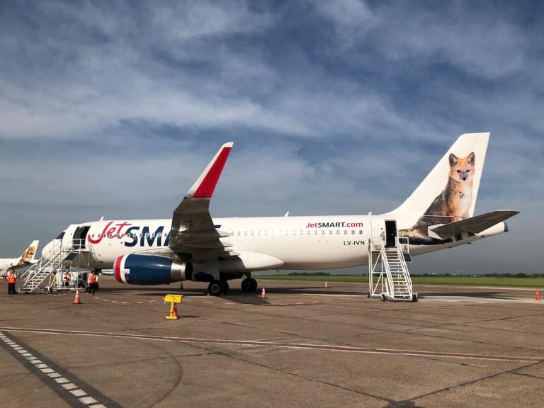 JetSMART desde Aeroparque, Buenos Aires, Argentina