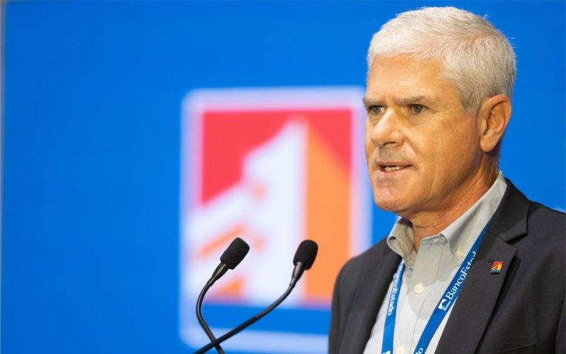 Ricardo de Tezanos, presidente de BancoEstado, en la Cuenta Pública 2020