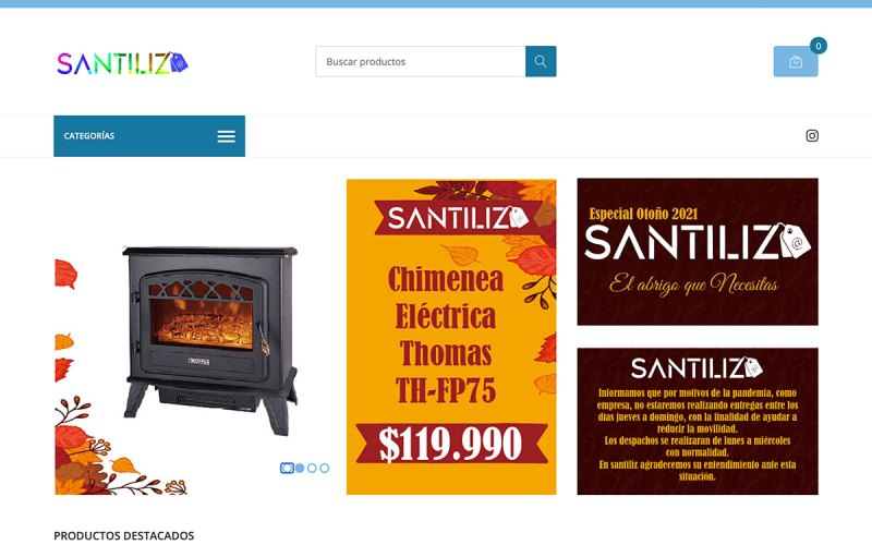 La tienda Santiliz