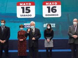 Piñera anuncia cambio toque de queda