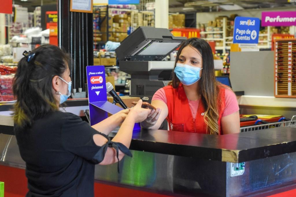 Las compras de Acuenta.cl se pueden retirar en alguno de los supermercados habilitados con Pickup.