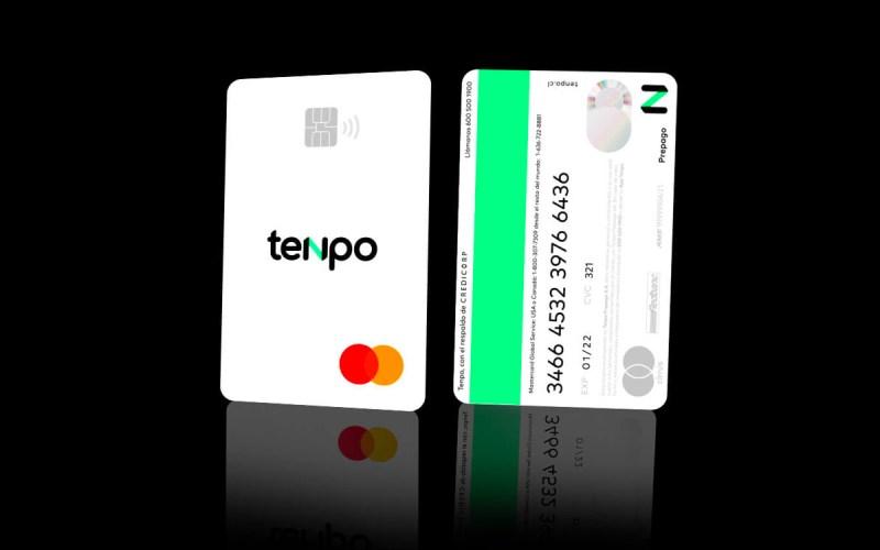 Tarjeta de prepago Tenpo Mastercard física