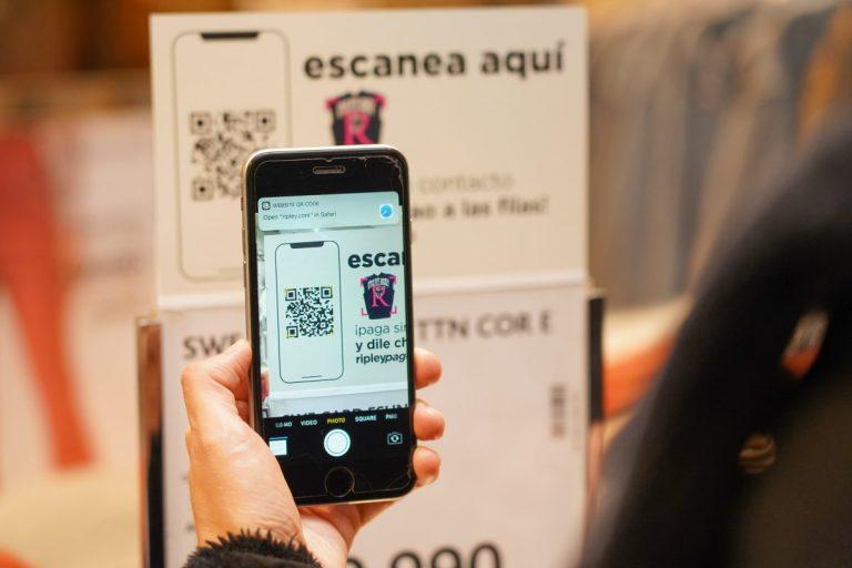 Ripley lanza nuevo sistema para pagar desde un smartphone sin pasar por caja