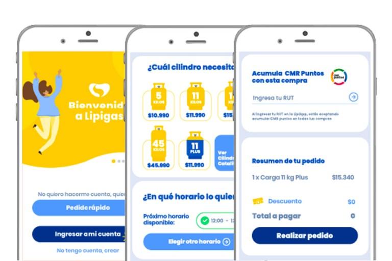 CMR Puntos en la LipiApp de Lipigas