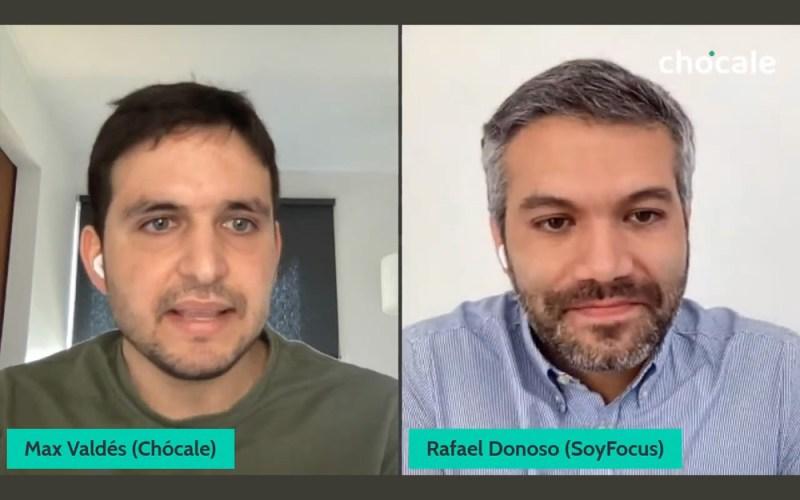 Rafael Donoso, socio fundador de SoyFocus, conversó con Max Valdés de Chócale