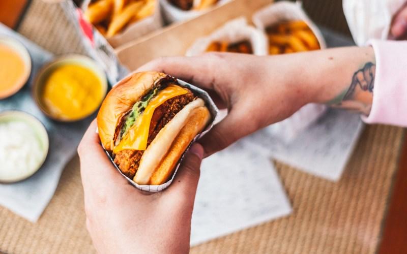 NotChicken Burger de NotCo y Chicken Love You
