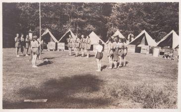 Z tábora Narcisů 1937