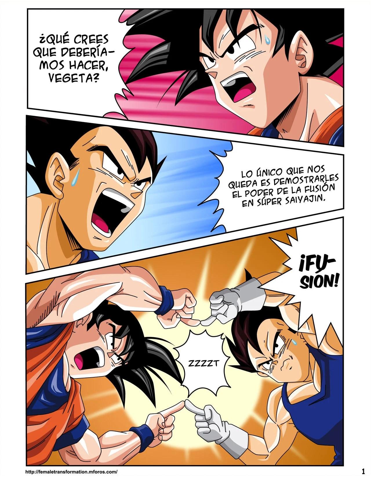 Super Saiyajin Sexual 02