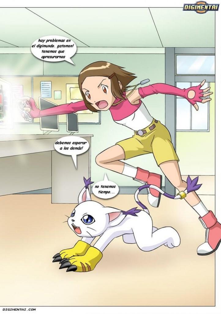 digimon hentai comic