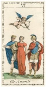 恋人のタロットカード