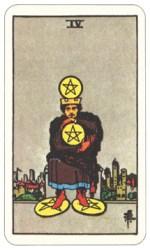 ペンタクルス4,タロットカード