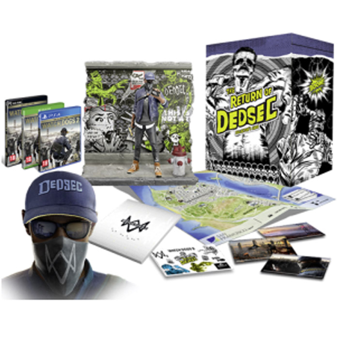 Watch Dogs 2 Dedsec Edition Collector PS4 149 Euros
