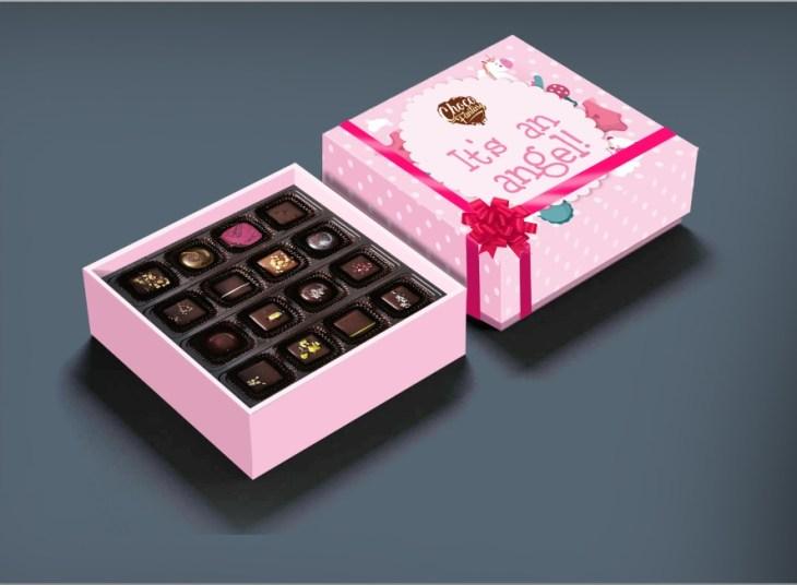 Choco Fantasy Baby Show Chocolate Gift Box