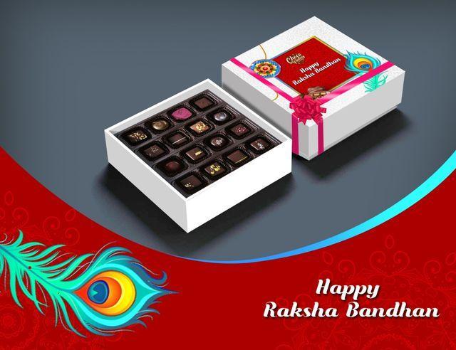Raksha Bandhan Special Homemade Chocolate Gift box by Choco Fantasy, best rakhi gift ideas for brother