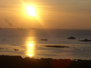 Guernsey sunset