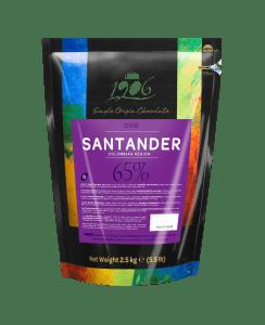 Chocolade - Donker - Santander 65% (2,5kg)