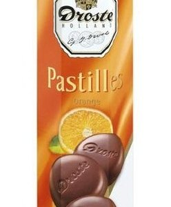 Droste Droste Chocolade Pastilles Koker Orange 100 Gram