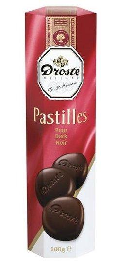 Droste Droste Chocolade Pastilles Koker Puur 100 Gram