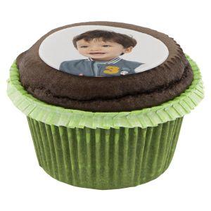 HEMA Fotocupcake 12 Stuks Chocola