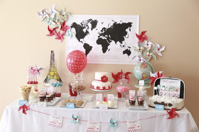 How to style a sweet table – Choosing a theme