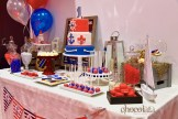 Nautical theme sweet table 2