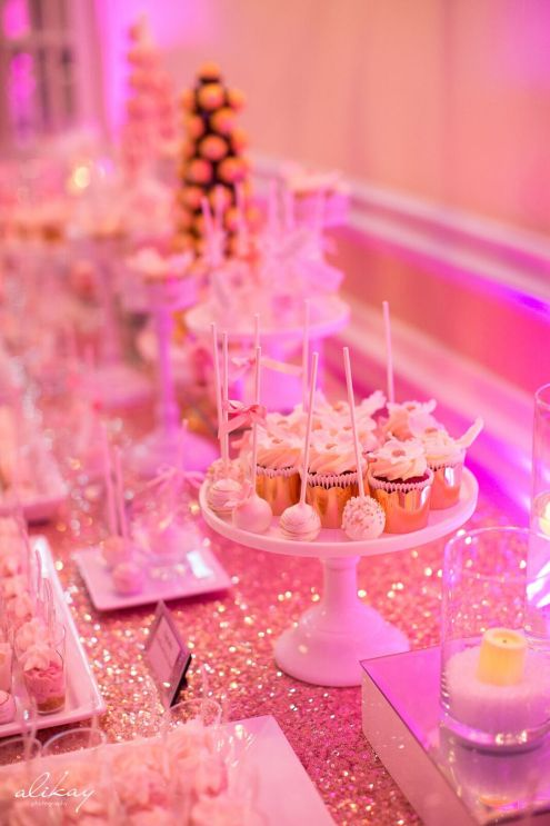 wedding sweet table, blush cake pops, montreal, laval