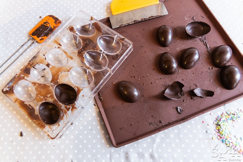 fazer ovos de chocolate caseiros