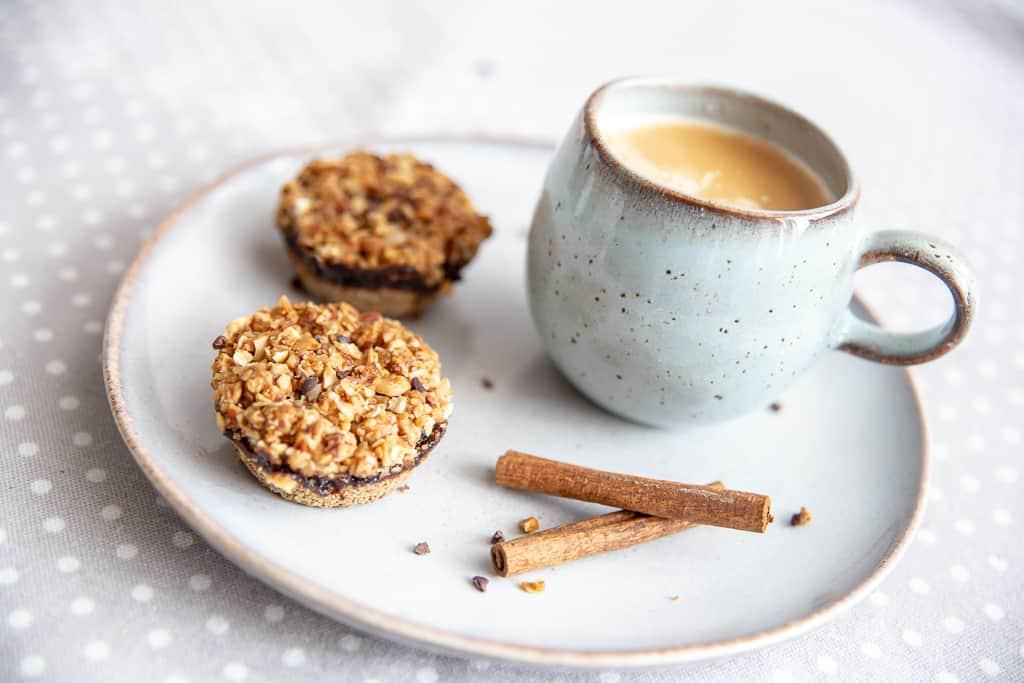 Muffins de aveia e trigo sarraceno