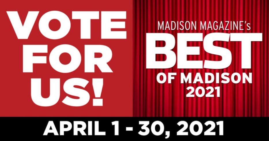 Vote for Us, Best of Madison 2021, Voting April 1-30