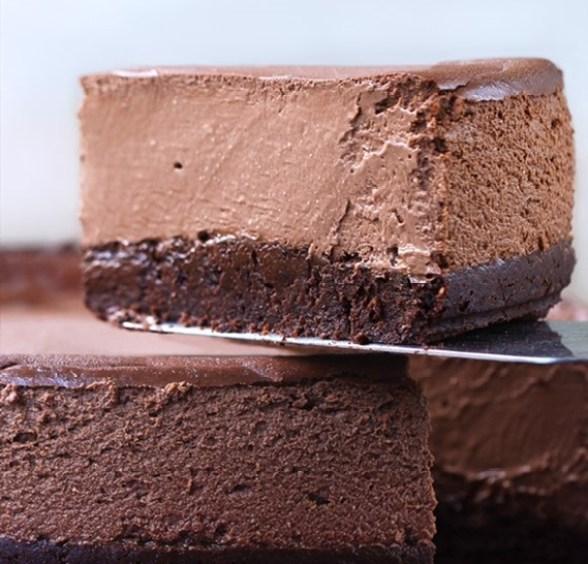 brownie cheesecake vegan