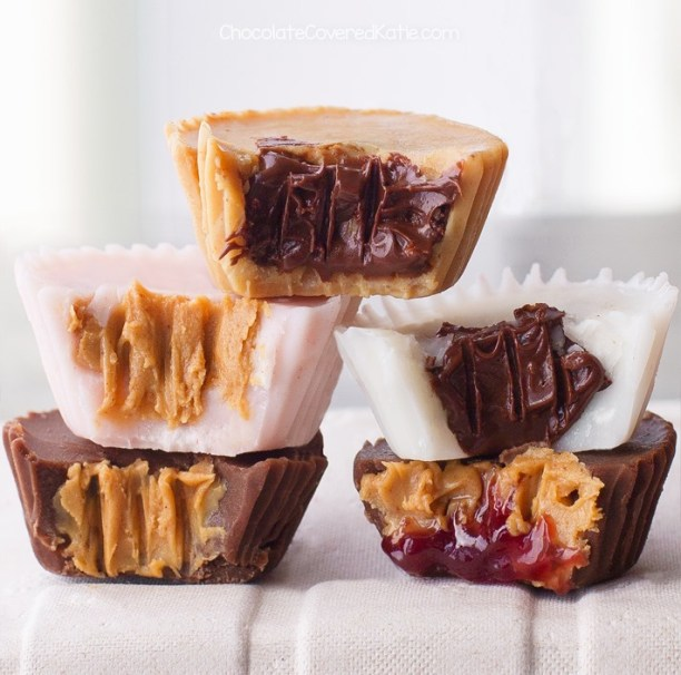 Make Your Own Peanut Butter Cups In Different Flavors