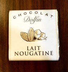 Dolfin Chocolat Lait Nougatine mini chocolate bar
