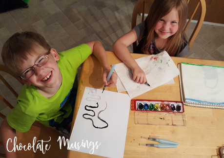 Watercolor pens for kids = Creativity Love