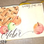 Hello October – Smells Like Fresh Baked Apple Pie – Monthly Welcome Page