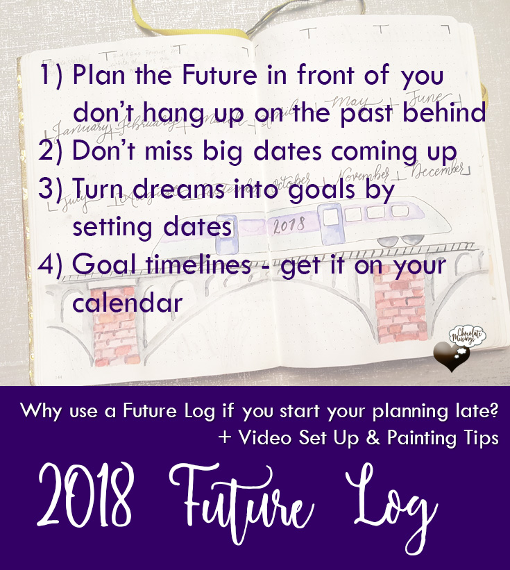 4 Reasons to Future Log even if you start planning late in your Bullet Journal