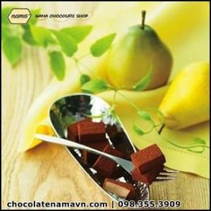 Nama Chocolate Pear vị trái lê từ Nhật Bản